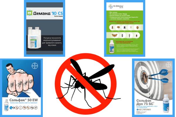 Эффективные препараты от комаров